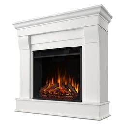 """Real Flame® 41"""" Chateau Electric Fireplace, White 