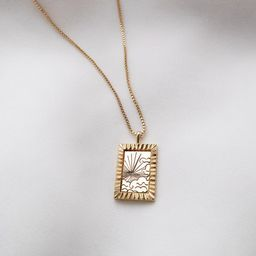 Dusk to Dawn Gold Necklace   Wanderlust + Co