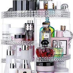 Awenia Makeup Organizer 360-Degree Rotating, Adjustable Makeup Storage, 7 Layers Large Capacity C... | Amazon (US)
