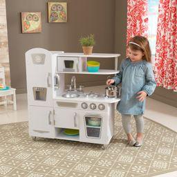 KidKraft Vintage Play Kitchen - White | Walmart (US)