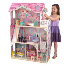 KidKraft Annabelle Dollhouse with 17 Accessories Included | Walmart (US)