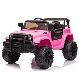 Zimtown Safety 12V Battery Electric Remote Control Car, Kids Toddler Ride On Truck Toy Motorized ... | Walmart (US)
