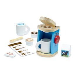 Melissa & Doug Brew & Serve Wooden Coffee Maker Set | Walmart (US)
