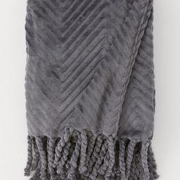Fleece Throw with Fringe | H&M (US)