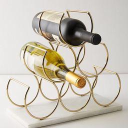 Brass Wine Rack   Anthropologie (US)