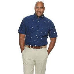 Big & Tall Croft & Barrow® Classic-Fit Easy-Care Button-Down Shirt   Kohl's