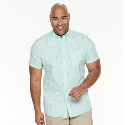 Big & Tall Sonoma Goods For Life® Poplin Button-Down Shirt   Kohl's