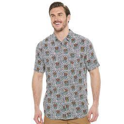 Big & Tall Unionbay Poolside Printed Button-Down Shirt   Kohl's
