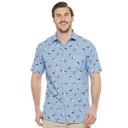 Big & Tall Unionbay Pier Printed Camp Button-Down Shirt   Kohl's