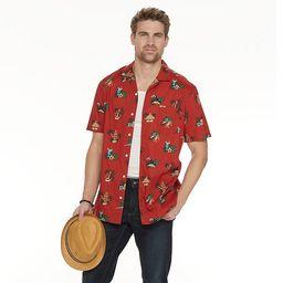 Big & Tall Sonoma Goods For Life® Camp Shirt   Kohl's