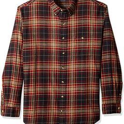 Arrow 1851 Men's Big and Tall Saranac Flannel Long Sleeve Button Down Shirt   Amazon (US)