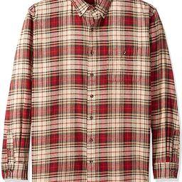 G.H. Bass & Co. Men's Big and Tall Fireside Flannels Long Sleeve Button Down Shirt   Amazon (US)