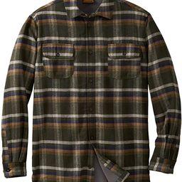 Boulder Creek by Kingsize Men's Big & Tall Fleece-Lined Flannel Shirt Jacket   Amazon (US)