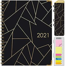 """HARDCOVER 2021 Planner: (November 2020 Through December 2021) 8.5""""x11"""" Daily Weekly Monthly Plann...   Amazon (US)"""