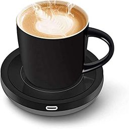 BESTINNKITS Smart Coffee Set Auto On/Off Gravity-induction Mug Office Desk Use, Candle Wax Cup Wa...   Amazon (US)