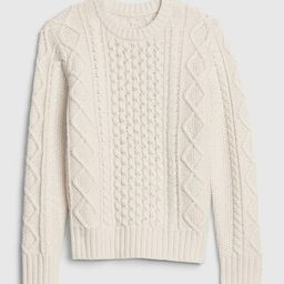 Kids Cable-Knit Sweater   Gap (US)