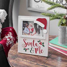 Merry Santa Picture Frame, 4x6 | Kirkland's Home