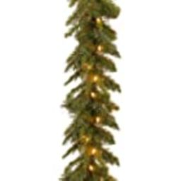 National Tree Company Pre-lit Artificial Christmas Garland | Includes Pre-strung Lights | Tiffany... | Amazon (US)