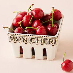 Bistro Tile Mon Cheri Berry Basket | Anthropologie (US)