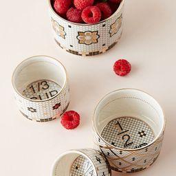 Bistro Tile Measuring Cups, Set of 4 | Anthropologie (US)