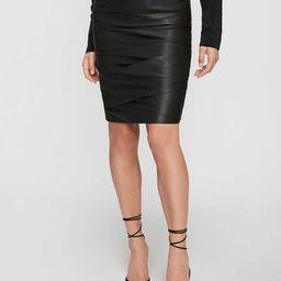 The Gina Ruched Pencil Skirt | Brochu Walker