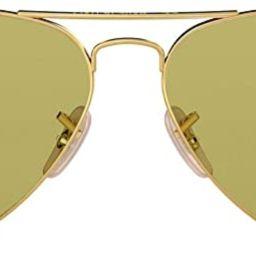 Ray-Ban Unisex-Adult RB3025 Classic Evolve Sunglasses, Gold/Green Photochromic, 58 mm | Amazon (US)