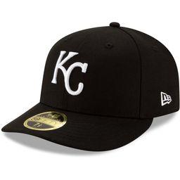 Men's Kansas City Royals New Era Black Team Low Profile 59FIFTY Fitted Hat | MLB Shop