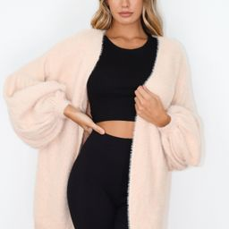 Pink Extreme Tulip Sleeve Cardigan | Missguided (US & CA)