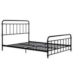 DHP Wallace Metal Bed (Black - Full) | Overstock