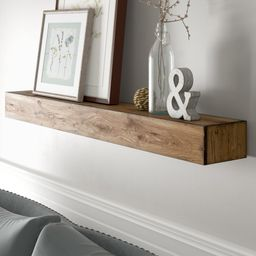 Poulan Wood Floating Shelf | Wayfair North America