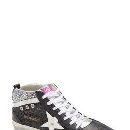 Women's Golden Goose Mid Star Sneaker, Size 11US - Black (Nordstrom Exclusive)   Nordstrom