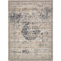 Chateau Hoover Dark Blue 9' 0 x 12' 0 Area Rug | The Home Depot