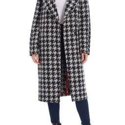 Houndstooth Oversize Double Face Coat | Nordstrom