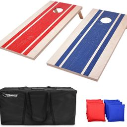 GoSports Classic Cornhole Set - Includes 8 Bean Bags, Travel Case and Game Rules (Choose between ... | Amazon (US)