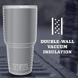 YETI Rambler 30 oz Tumbler, Stainless Steel, Vacuum Insulated with MagSlider Lid | Amazon (US)