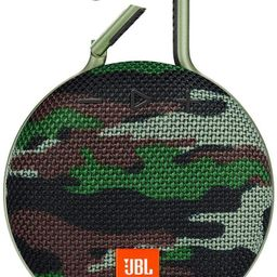 JBL CLIP 3 - Waterproof Portable Bluetooth Speaker - Squad Camo | Amazon (US)