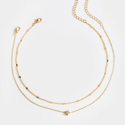 Rory Star Layered Choker   Francesca's Collections