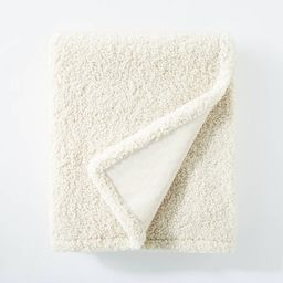 """50""""x60"""" Boucle Throw Blanket with Plush Reverse - Threshold™ designed with Studio McGee   Target"""