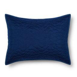 Triangle Stitch Standard Pillow Sham - Pillowfort™ | Target