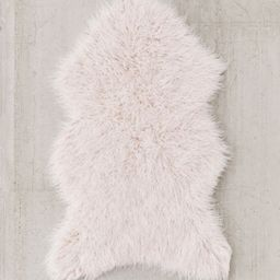 Mazzy Faux Fur Shaped Rug | Urban Outfitters (US and RoW)