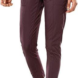 CRZ YOGA Women's Studio Joggers Striped Travel Lounge Pants Drawstring Leg 7/8 Workout Casual Tra... | Amazon (US)