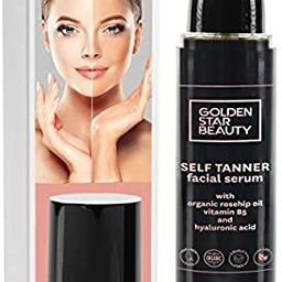 Self Tanner for Face – Face Tanner w/Hyaluronic Acid and Organic Oils, Self Tanners Best Seller...   Amazon (US)
