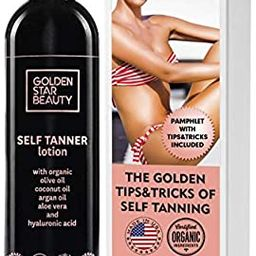 Self Tanner - Tanning Lotion w/Organic & Natural Ingredients, Sunless Tanning Lotion for Flawless...   Amazon (US)
