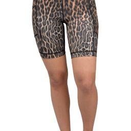 Animal Print Biker Shorts | Nordstrom Rack