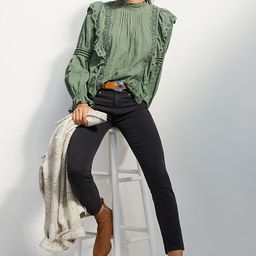 Paige Hoxton High-Rise Skinny Ankle Jeans   Anthropologie (US)