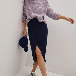 Leanna Knit Midi Skirt   Anthropologie (US)