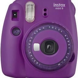 Fujifilm Mini 9 Instant Camera with Clear Accents (Purple)   Amazon (US)