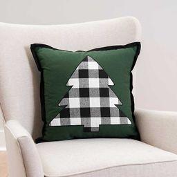 New!Buffalo Check Tree Pillow | Kirkland's Home