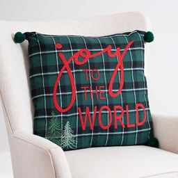 New!Joy to the World Embellished Pillow | Kirkland's Home