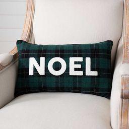 New!Green and Black Plaid Noel Pillow | Kirkland's Home